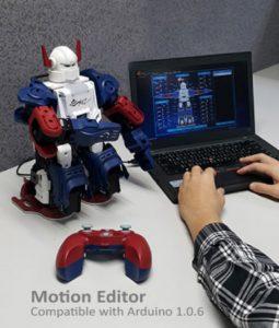 XYZ Robot Bolide es compatible con Arduino 1.0.6