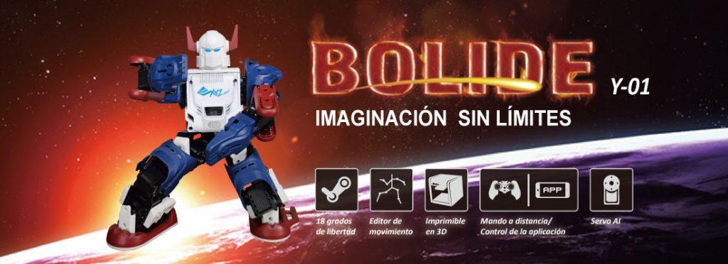 XYZ Robot Bolide, imaginación sin límites
