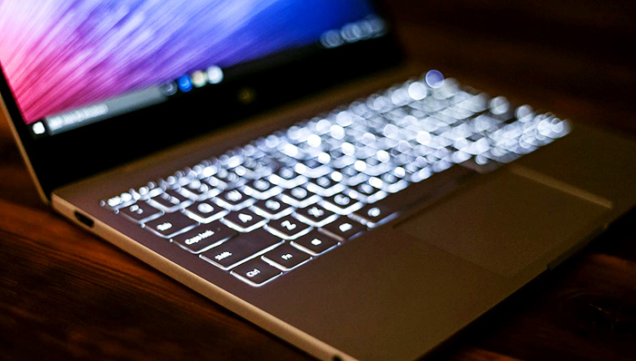 Xiaomi Mi Notebook Air 12 teclado con retroiluminación LED