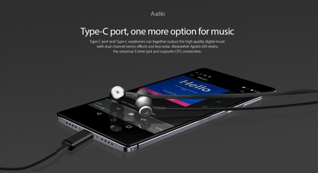 Integra un nuevo puerto USB Type-C, para que puedas escuchar tu música preferida con la mejor calidad posible.