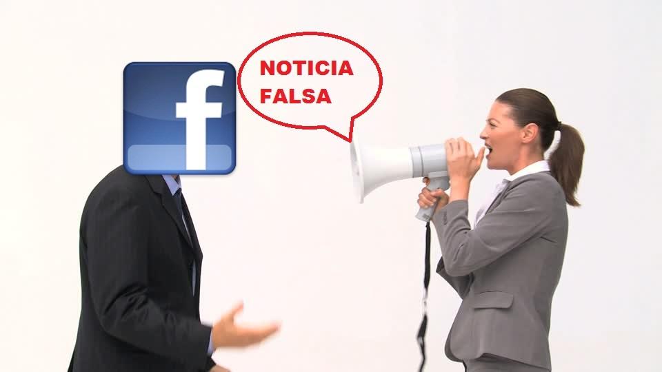 noticias falsas en Facebook