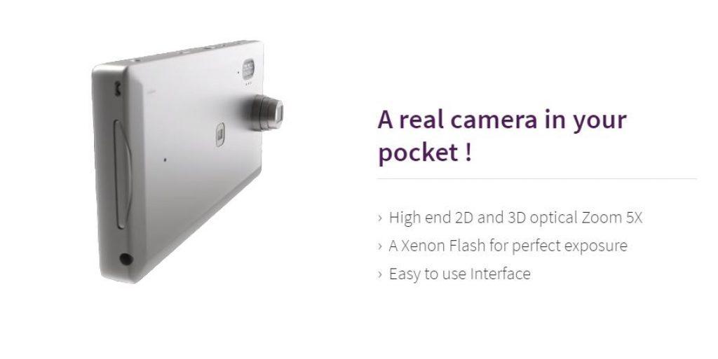 Graalphone llega con un zoom óptico X5 y un flash Xenon