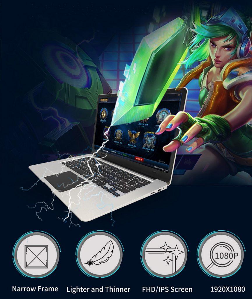 Jumper EZBook 3, pantalla