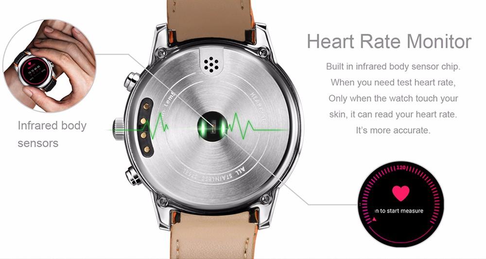 El Lemfo Lem5 posee un sensor de ritmo cardíaco