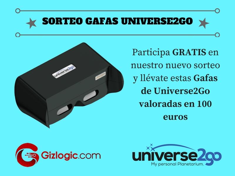 SORTEO GAFAS UNIVERSE2GO