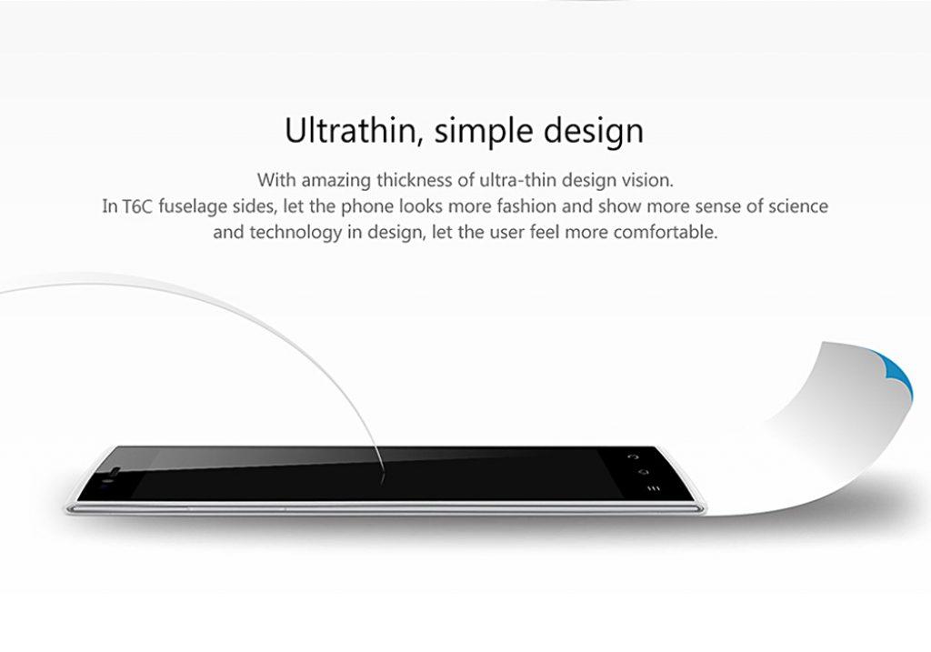 THL T6C, un smartphone ultrafino