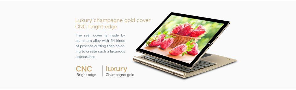 Teclast Tbook 10S, diseño