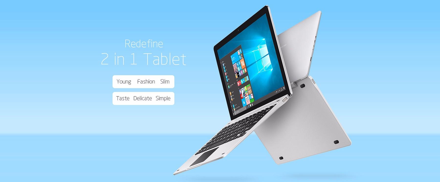 Teclast Tbook 12 Pro Diseño y construcción