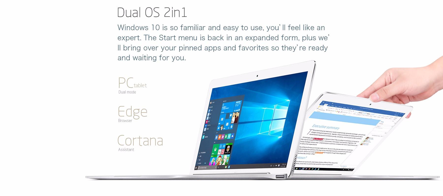 Teclast Tbook 16 Pro OS