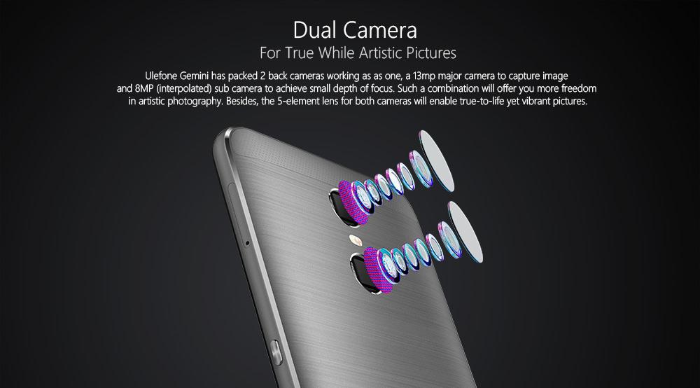 Ulefone Gemini cámara
