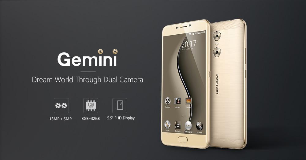 Ulefone Gemini especificaciones