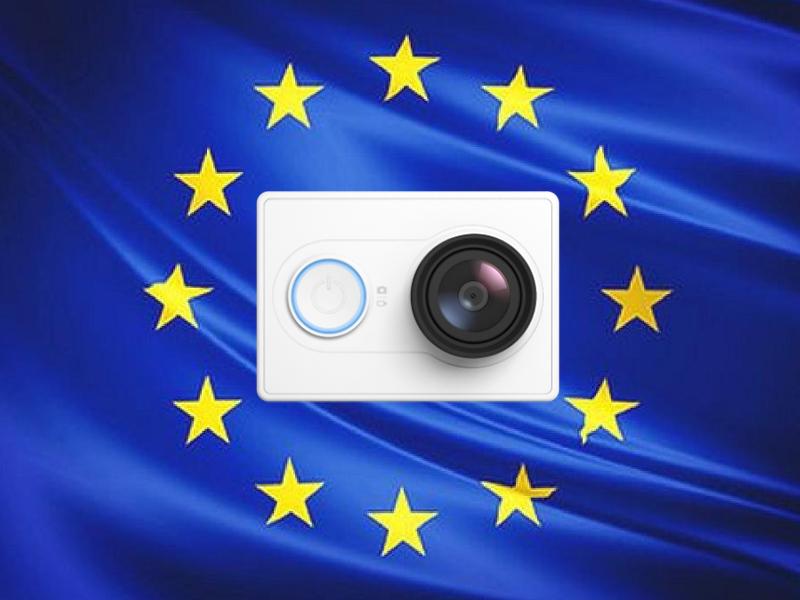 Xiaomi yi version europea