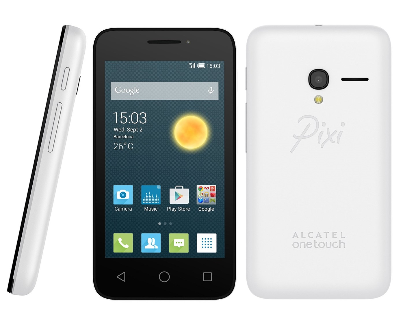 Alcatel one touch pixi 3 Destacada