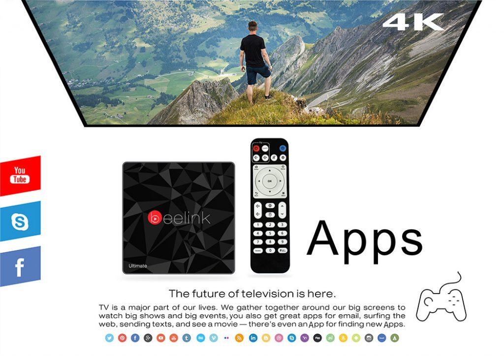 Beelink GT1 Ultimate, aplicaciones