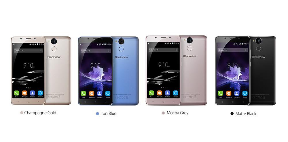 Estas son las cuatro versiones de Blackview P2