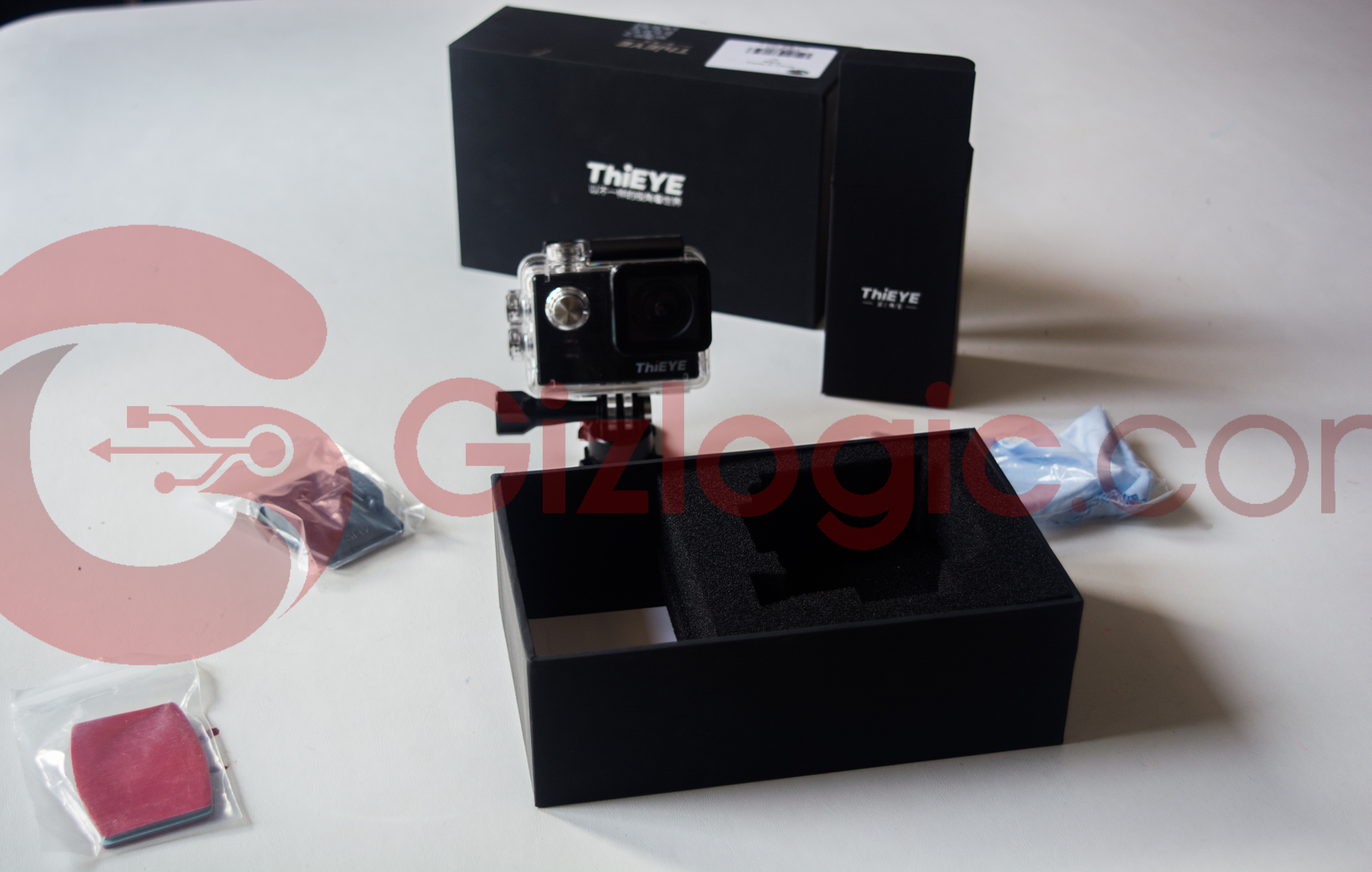 ThiEYE T5e contenido de la caja