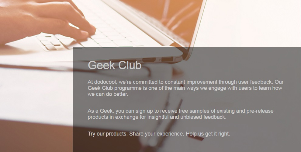 Dodocool Geek Club