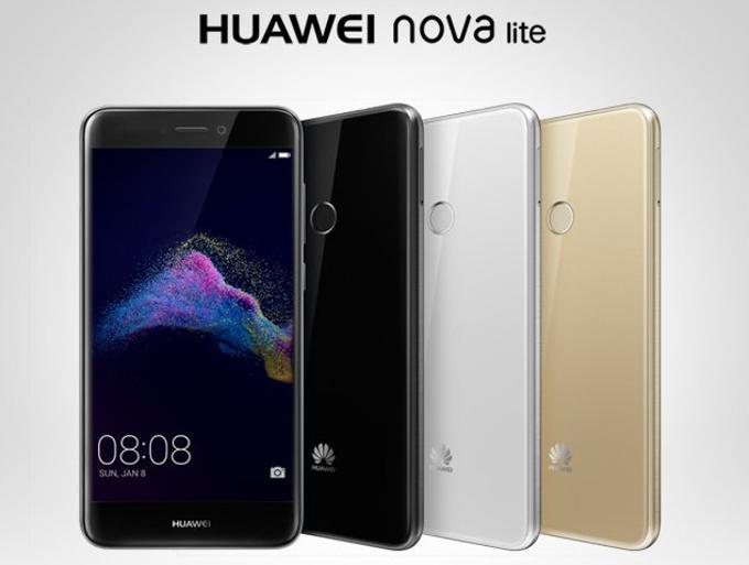 Huawei Nova Lite se venderán en tres colores