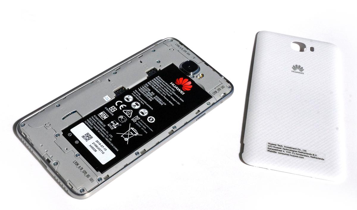 Huawei Y6 II Compact sin la cubierta trasera