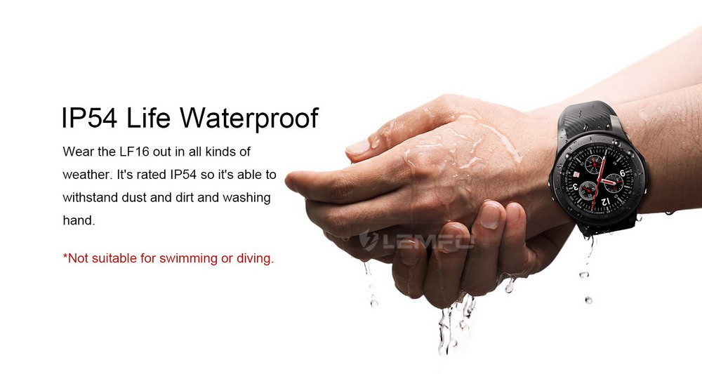 Lemfo LF16 Certificación IP54
