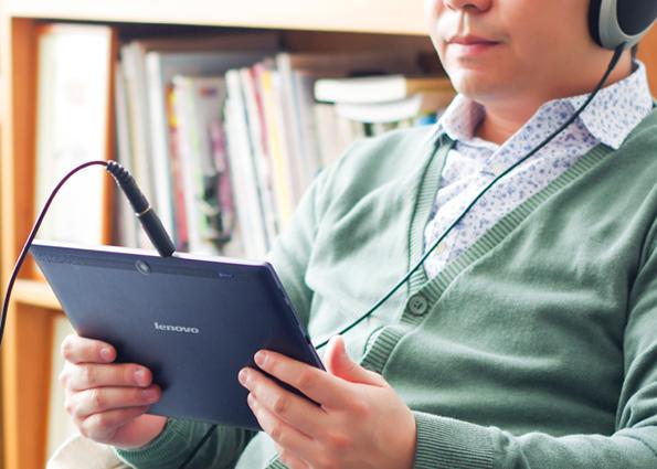 la Lenovo TAB 2 A10-30L cuenta una solución de sonido digital Dolby Atmos