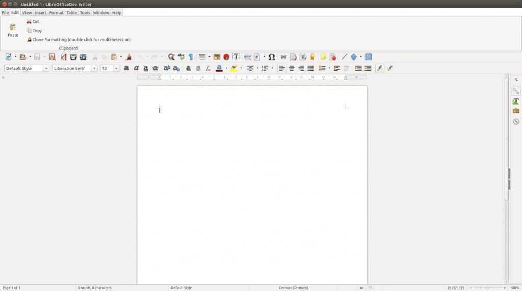 LibreOffice 5.3