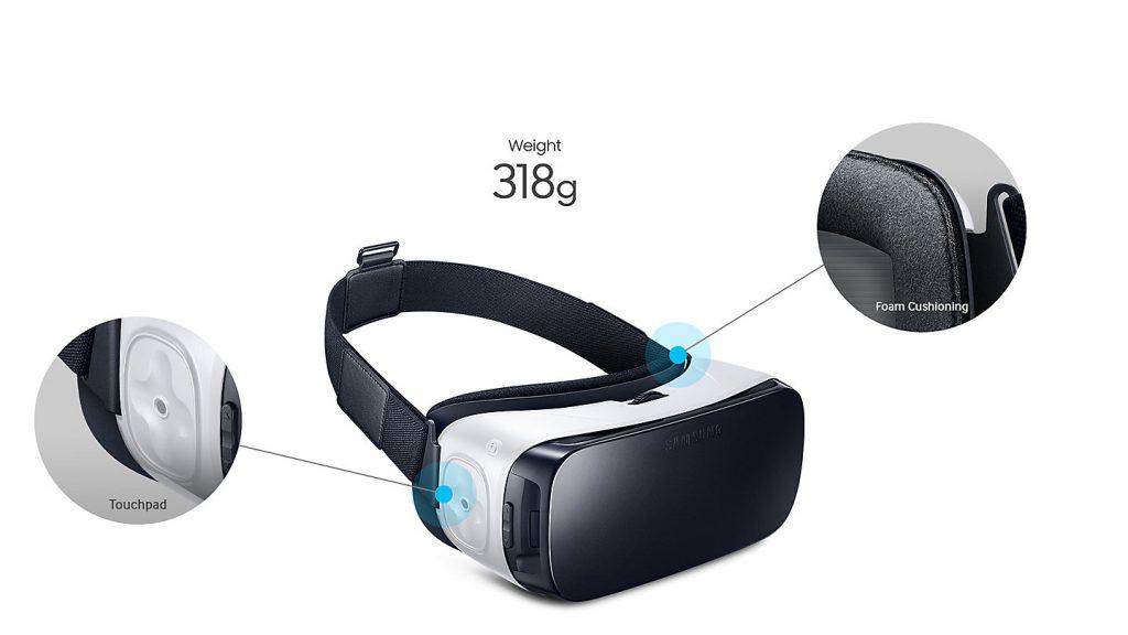 Samsung Gear VR 2017, diseño