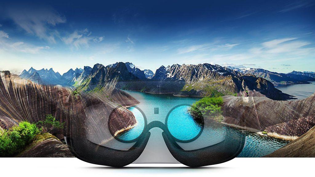 Samsung Gear VR 2017, pantalla