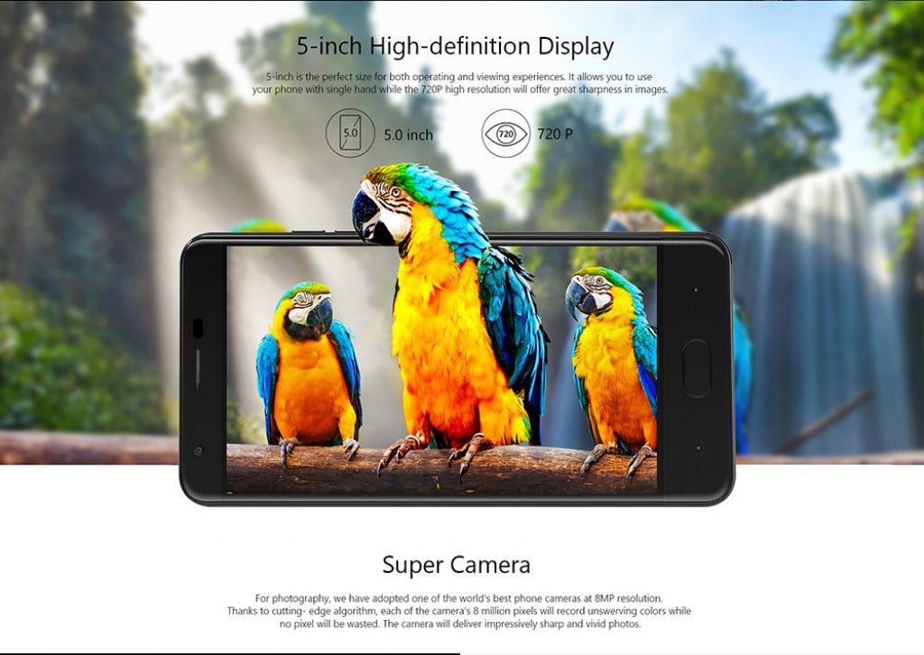 Ulefone U008 Pro, pantalla