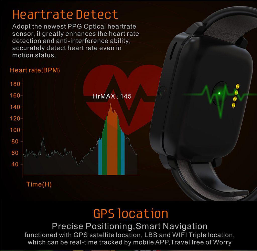 Uwear U11S, sensor cardiaco