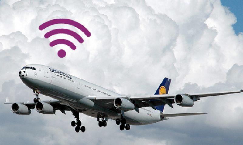 wifi en el avión