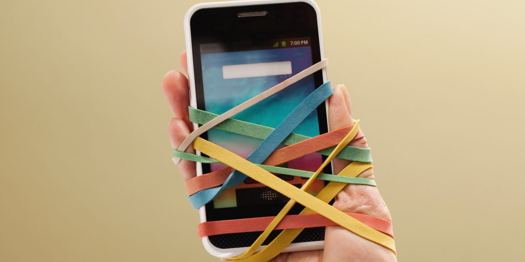 Redes sociales adicto smartphone
