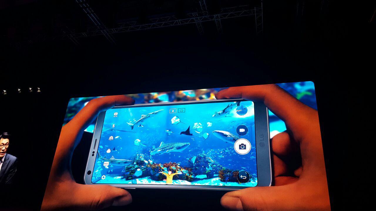 LG G6 MWC 2017 camaras