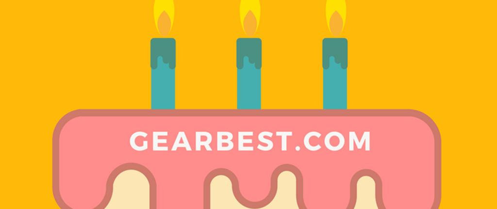 3er Aniversario de Gearbest móviles xiaomi