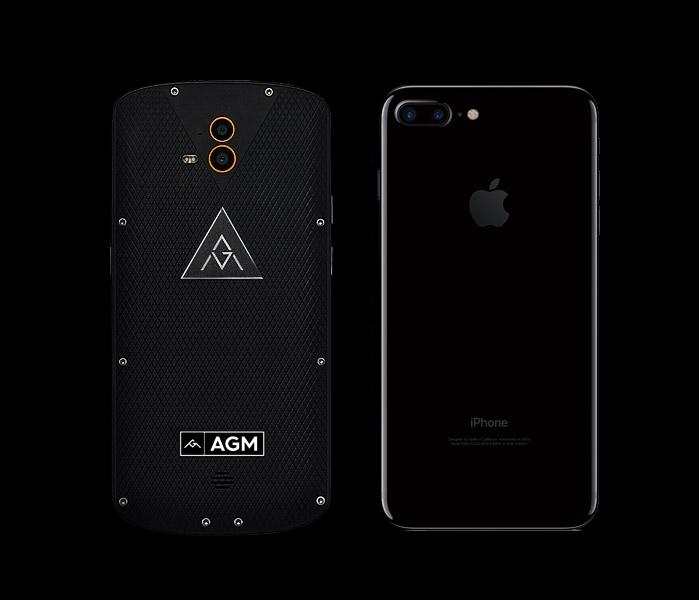 AGM X1AGM X1 y iPhone 7 Plus:
