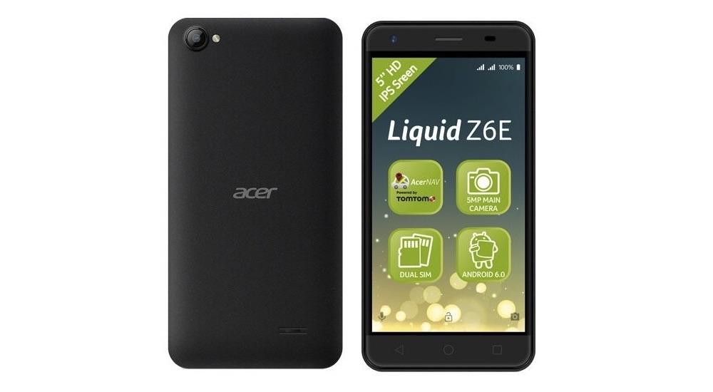 Acer Liquid Z6E Hardware