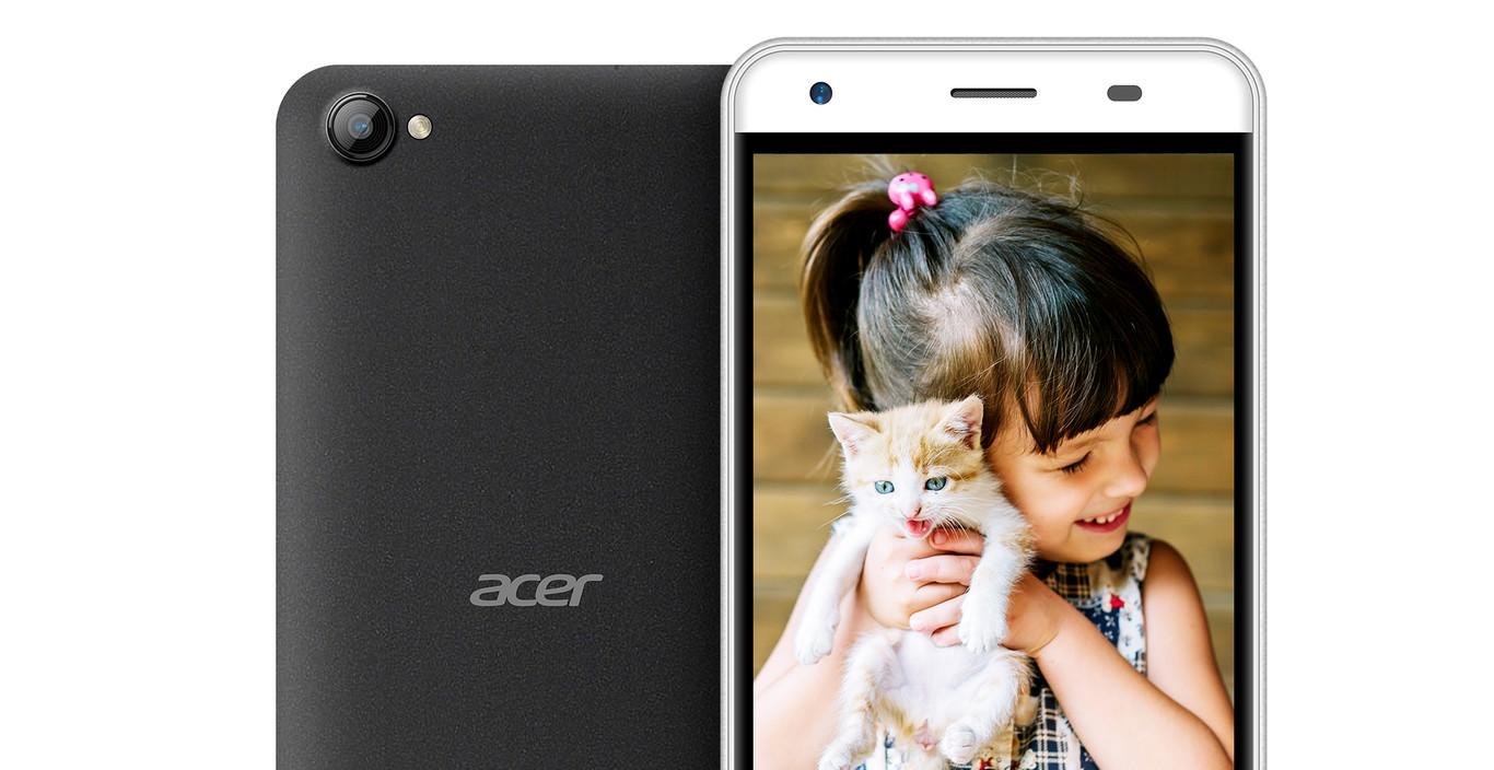 Acer Liquid Z6E cámara