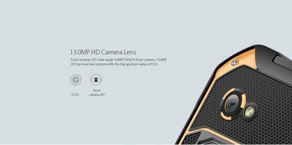 Blackview BV6000, cámara