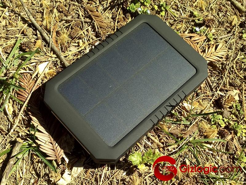 Cargador solar portatil dodocool