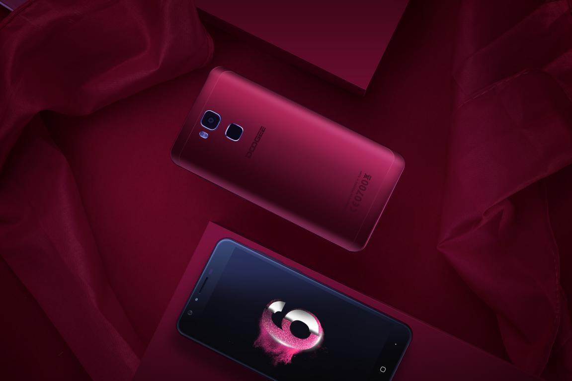 Doogee Y6 en rojo