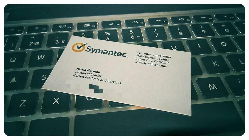 Foto symantec justin harmon core router norton