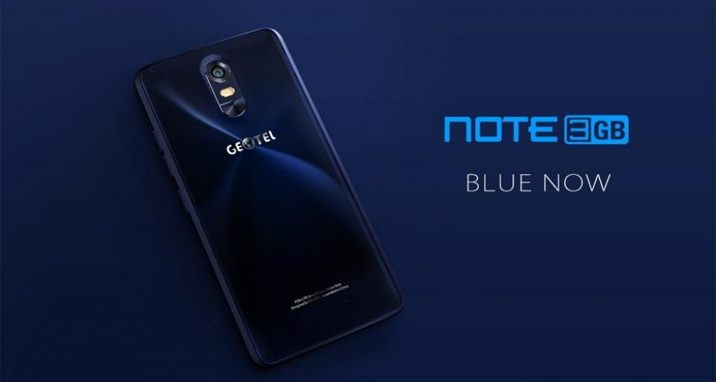 Geotel Note azul