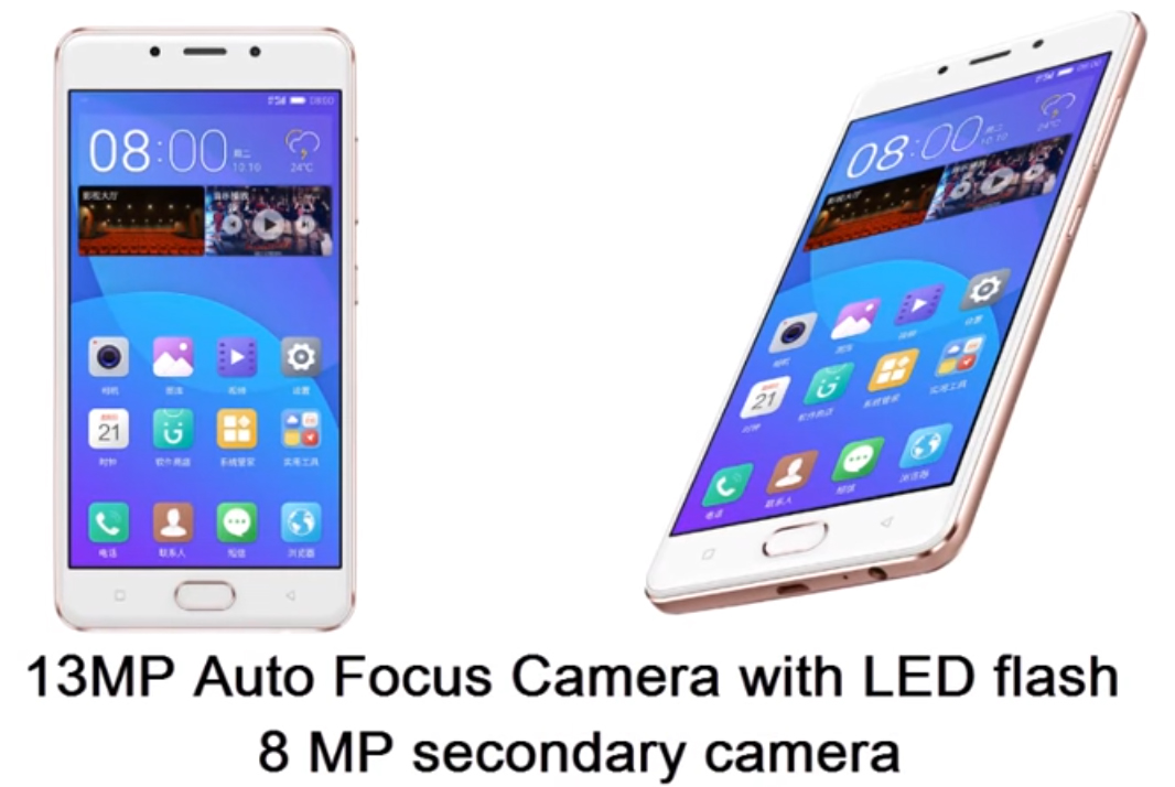 Gionee F5 cámara