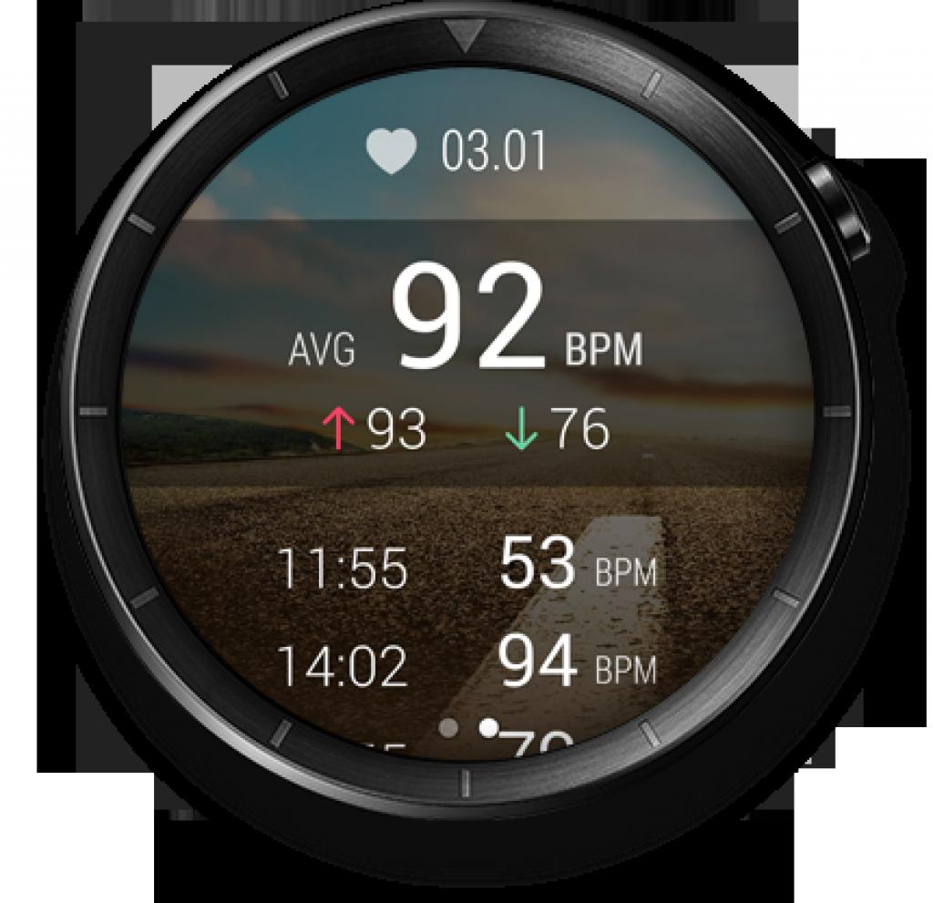 Huawei W1 Elite, sensores