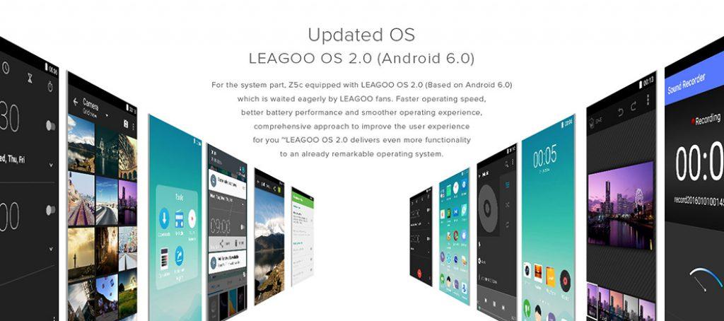 LEAGOO Z5C OS