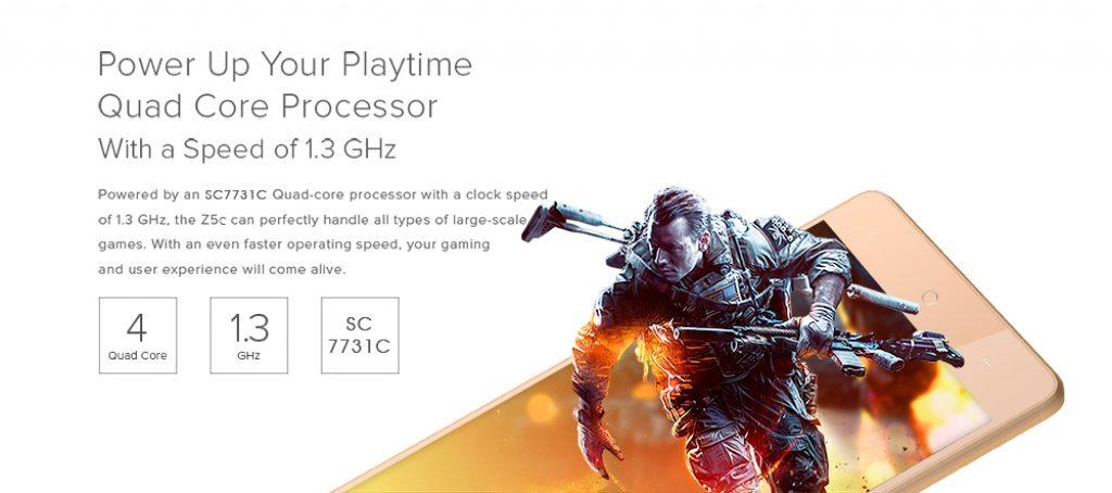 LEAGOO Z5C procesador