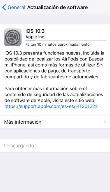 find my airpods iOS 10.3