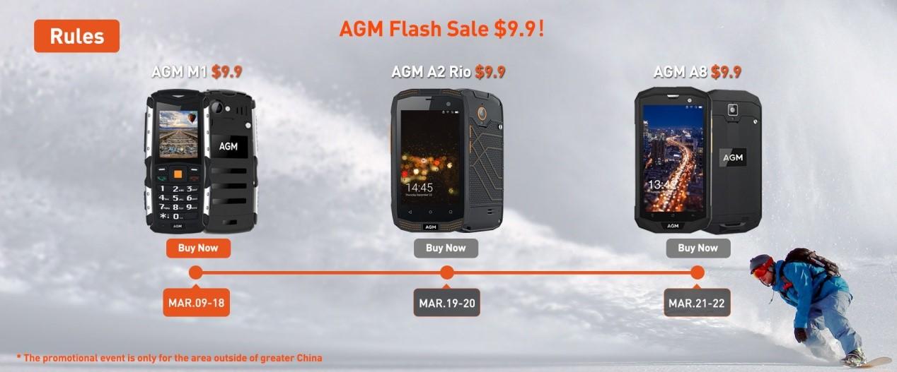 venta flash agm