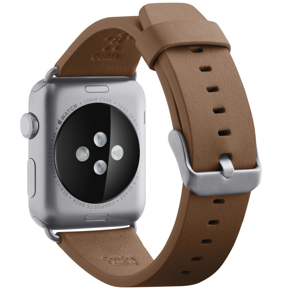 Belkin F8W730BTC00 correa apple smartwatch marron