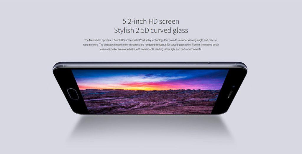 Meizu M5S, pantalla